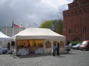 Прокат шатров в Москве