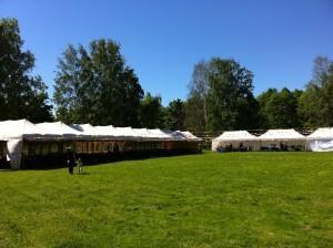Торговые шатры для ярморки
