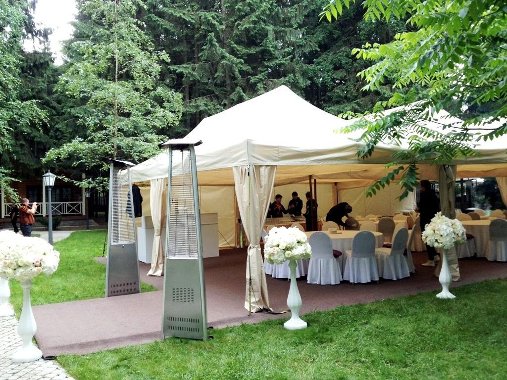 праздник на природе в шатре