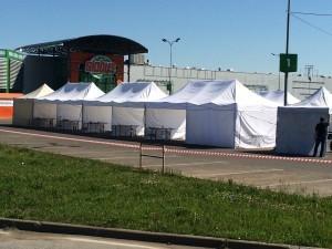Торговые шатры фото